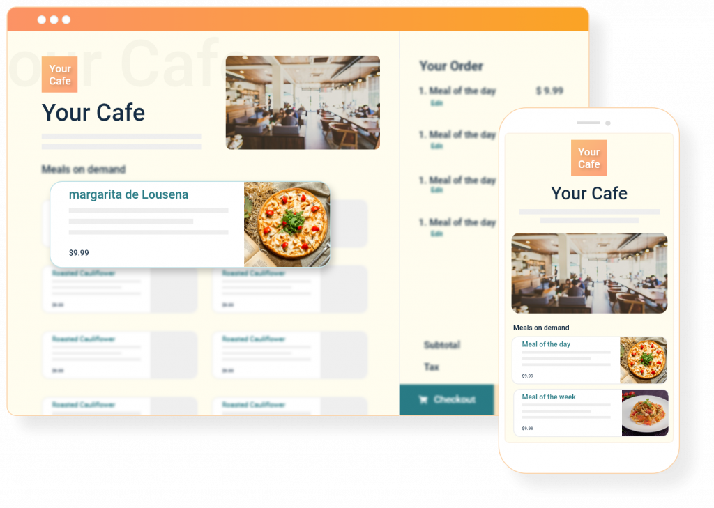 Grubly - Food Ordering - Contactless Menu