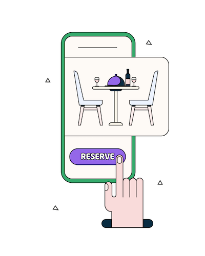 Online Table Reservations - Grubly
