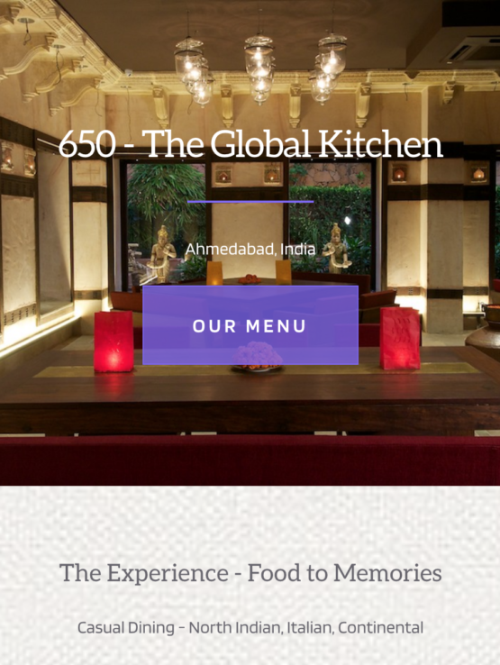650 - The Global Kitchen Preview